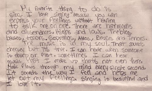 essay on why you love music My hobby, my passion, my love, dance april 23, 2014 in your team's room while the coaches play the music, you need to either practice it's a very good essay.