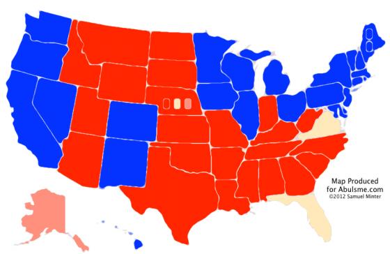 Abulsme Electoral College 0530  Colorado And Maine