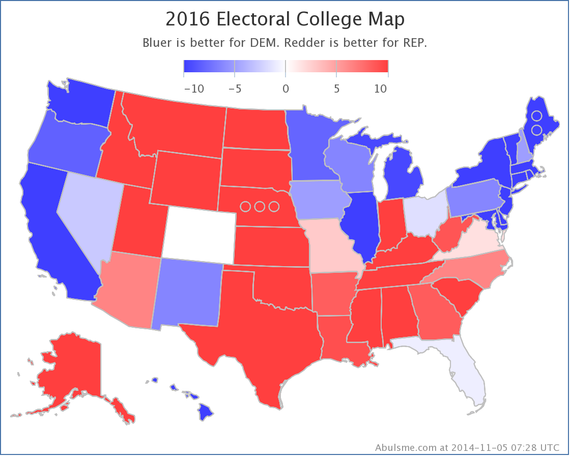 Abulsme.com: Electoral College: The Race Begins